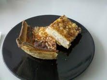 Quiche de calabacín, berenjena y queso gorgonzola