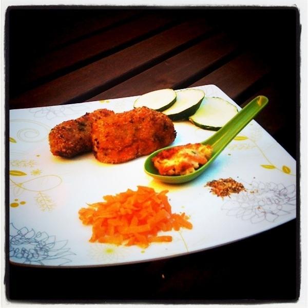 Croquetas de zanahoria y calabacín