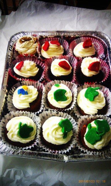 Cupcakes frikys: ruby, python y apple