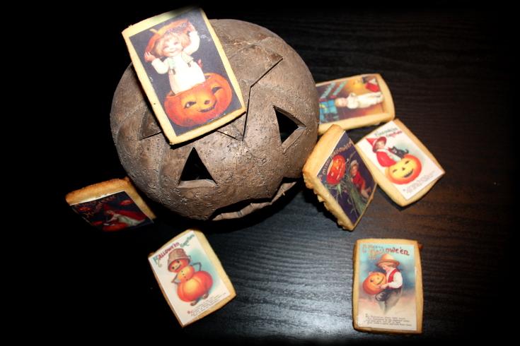 """Galletas de vainilla """"halloween"""""""