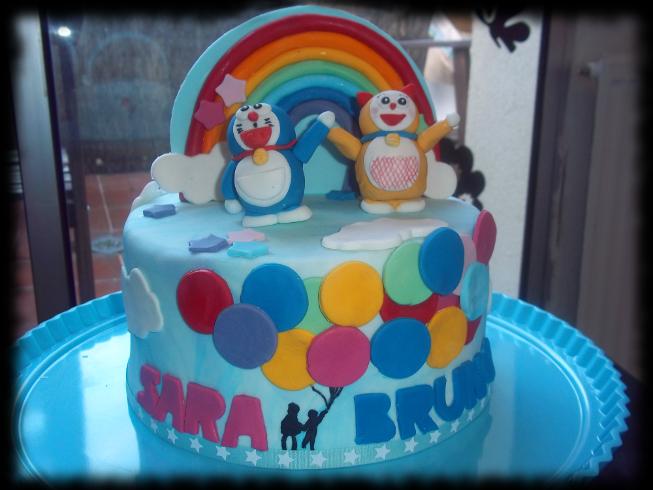 """Tarta Doraemon para """"Sara & Bruno"""""""