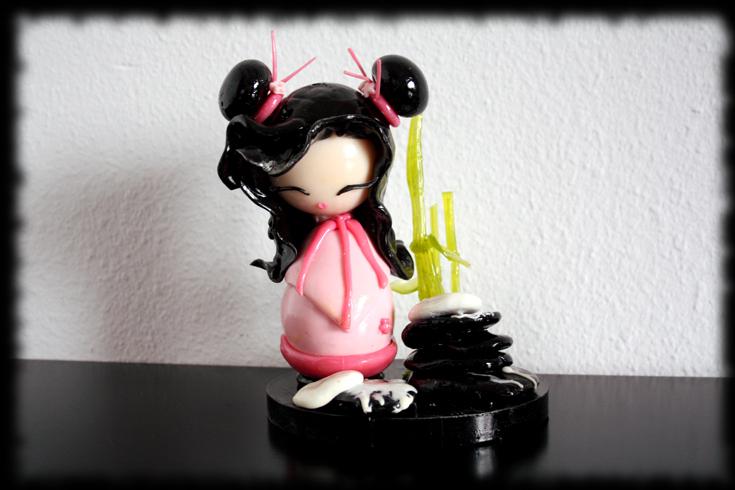 Geisha de Isomalt