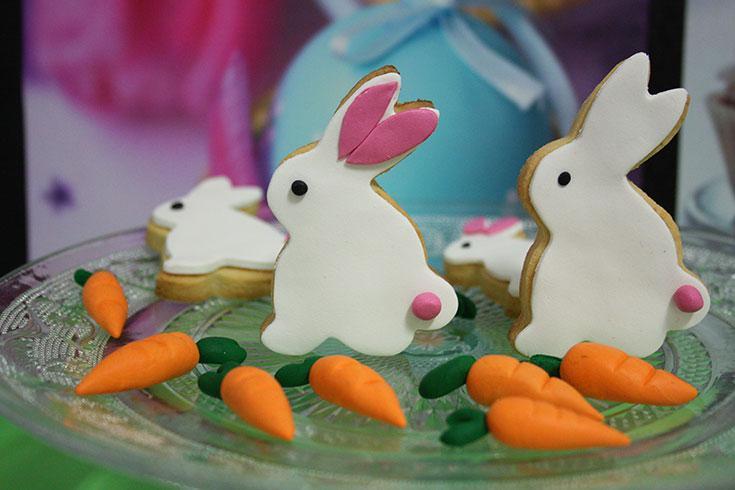 Galletas conejito de Pascua