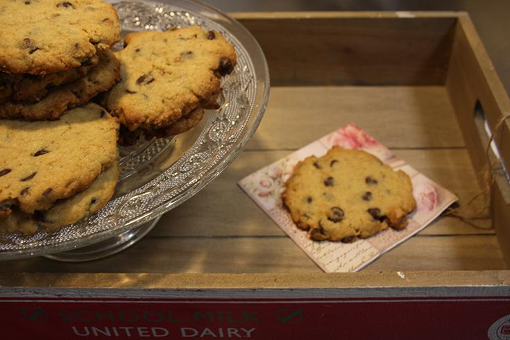 Cookies pepitas de chocolate