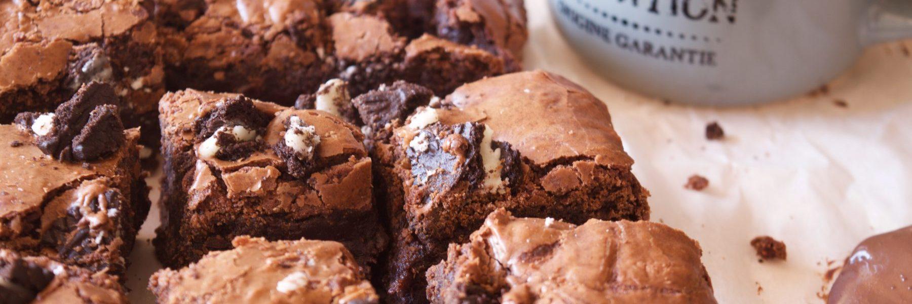 Brownie de chocholate & oreo