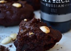 Brownie chocolate & cerveza negra